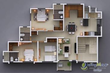 Apartamento en VENTA tipo Pent-House en Los Álamos.