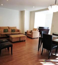 Apartamento Amueblado con Jardín en renta zona 13