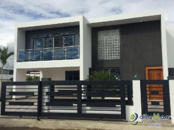 Hermosa Casa en venta , en santiago ,Rep. Dom.