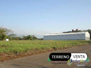 Terreno en venta en parque industrial en Escuintla