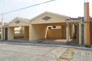 Vendo Casa con 259.00m2 en Zona 2 Mixco
