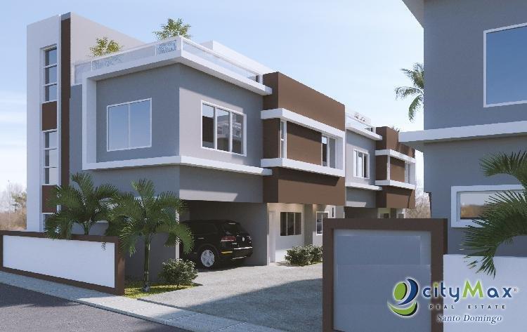 Casa en venta proyecto residencial Santo Domingo Oeste