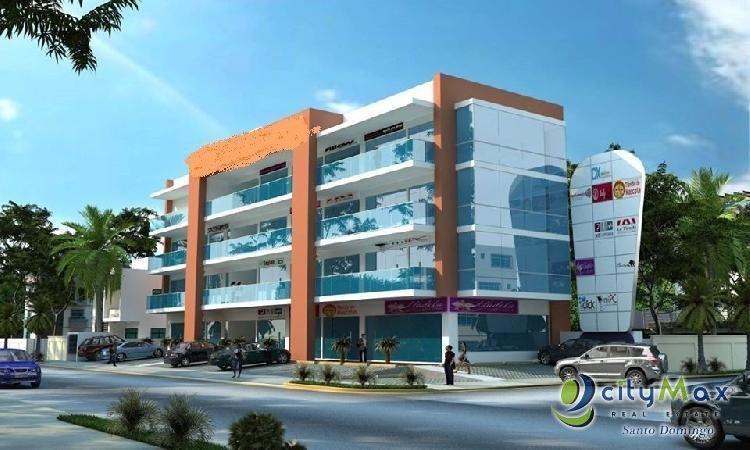Local comercial en alquiler 1er piso en La Romana 32 m.