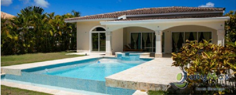 Hermosa Villa Amueblada en Venta en Punta Cana