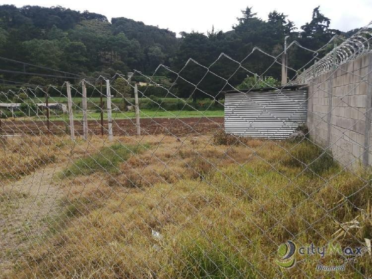 Hermoso terreno en venta en Milpas Altas
