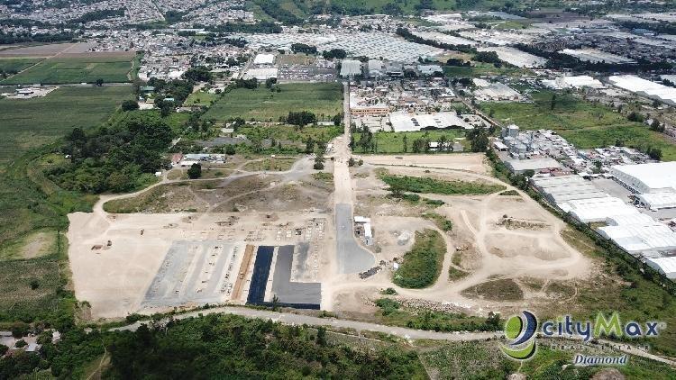 Venta de Terreno Urbanizado Industrial Amatitlan