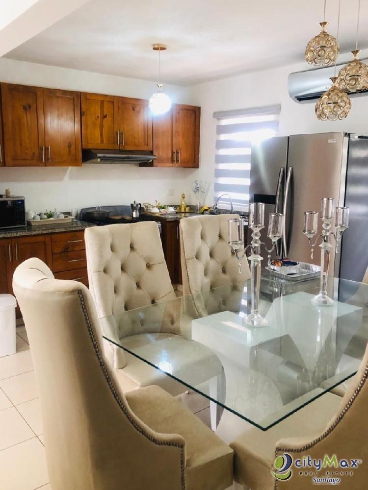 Apartamento para alquiler amueblado en Santiago