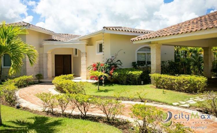 Vendo Villa Amueblada en Cocotal, Punta Cana
