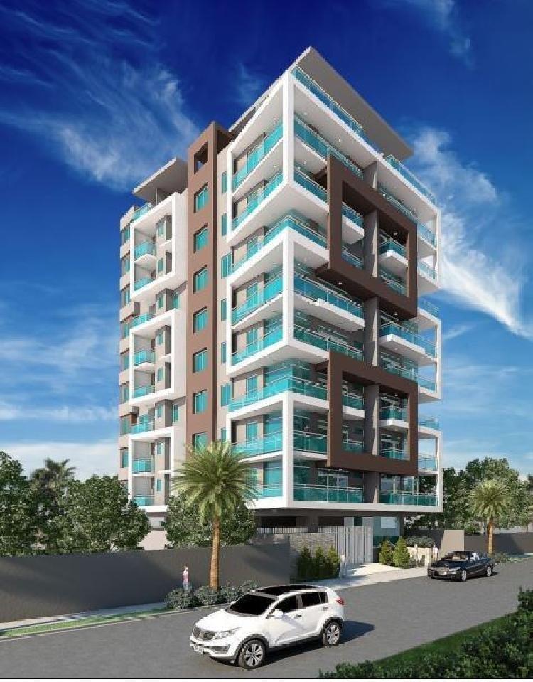 Apartamento en venta con amplia área social en Naco