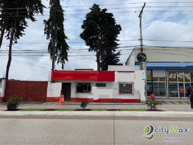 RENTO Terreno USO COMERCIAL Blvd. San Jose Pinula