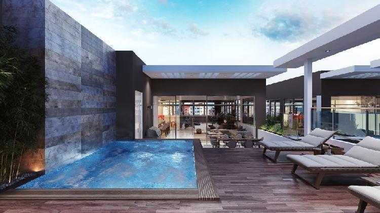 Venta de apartamento con amplio lobby en Los Cacicazgos