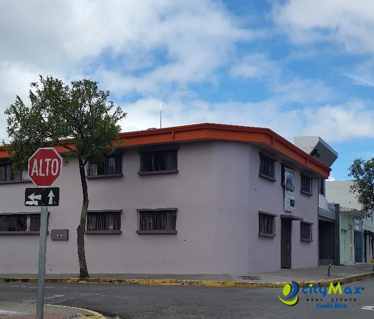 Venta Edificio dos pisos para oficinas, San José Centro
