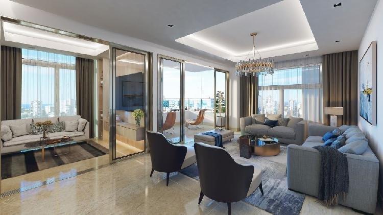 Venta de apartamento con sala doble, Los Cacicazgos