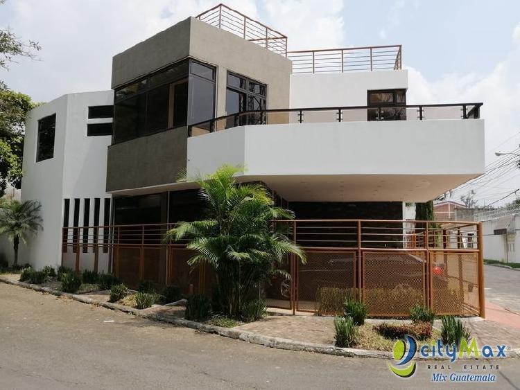Casa Nueva en Venta San Cristóbal Zona 8 de Mixco