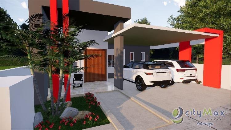 Casa en venta en residencial cerrado Santiago REP. DOM.
