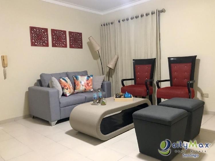 Apartamento amueblado en RENTA en La Rosaleda, Santiago