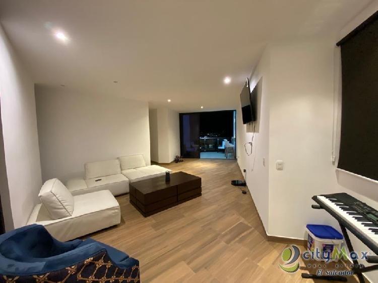 Alquilo apartamento amueblado a ESTRENAR Col Escalon