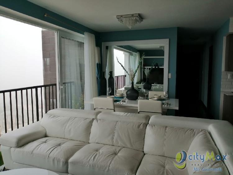 Apartamento Amueblado en Venta Treo Zona 4 de Mixco