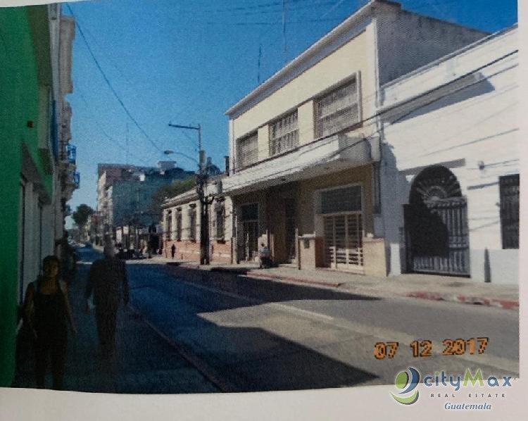 Edificio comercial en venta en zona 1