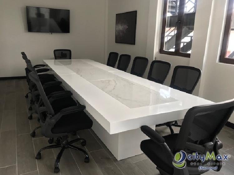 ALQUILER DE OFICINA 9.10 m2 DISTRITO NEGOCIOS ZONA 16
