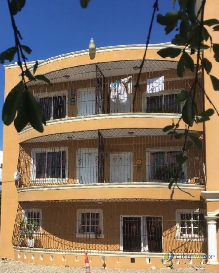 SE vende edificio de apartamentos en santiago RD.