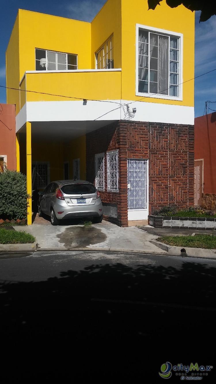 Casa en VENTA en Villa Primavera en Quezaltepeque