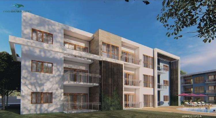 Apartamentos en Venta de 2 Hab, 86 Mts2 en Bávaro