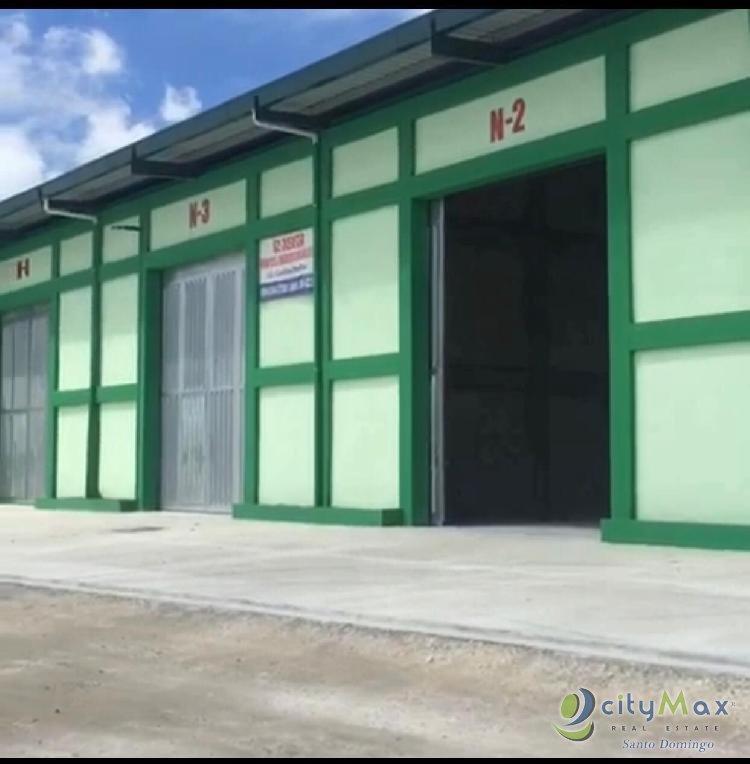 Alquilo Nave Industrial en Bávaro Punta Cana