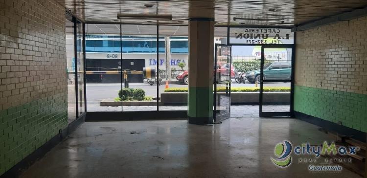 Local en venta en edificio de zona 4 Guatemala