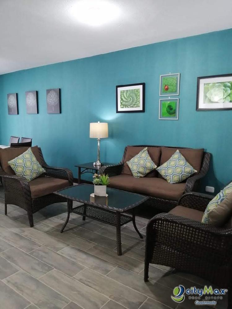 Rento Casa Amueblado en Condominio Km 20.4 Amatitlán VN