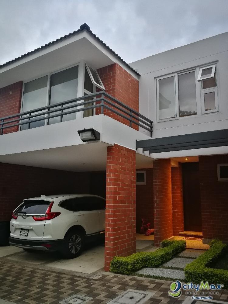 Hermosa Casa En renta en zona 16 Ensenada de San Isidro