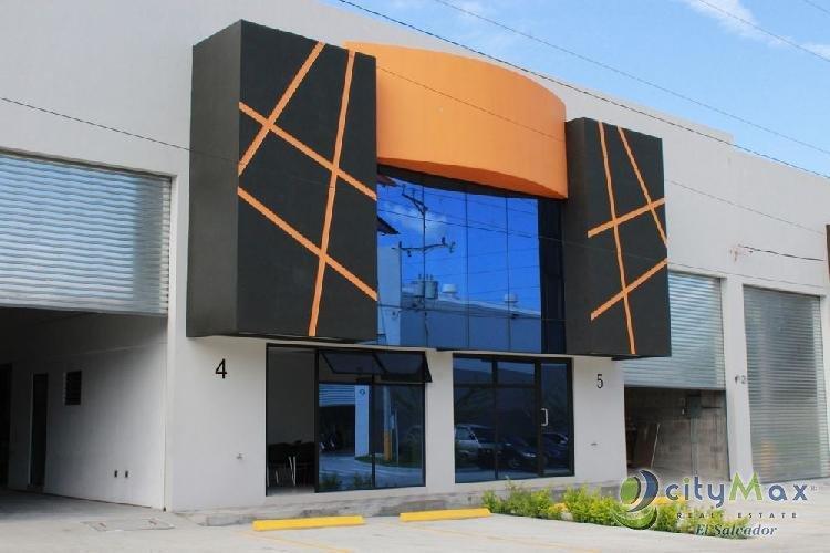 Bodegas con oficina VENTA y RENTA Proyecto Industrial