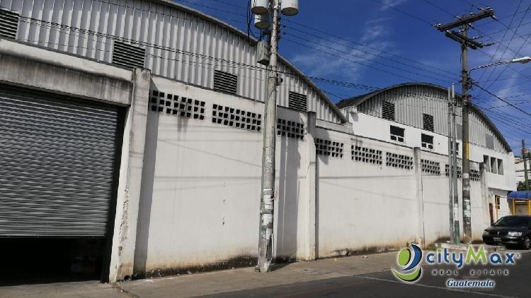 Bodega amplia en renta en Colonia La Escuadrilla, Mixco