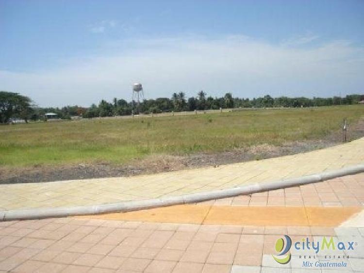Terreno en venta  en kilometro 118.5 carretera Iztapa