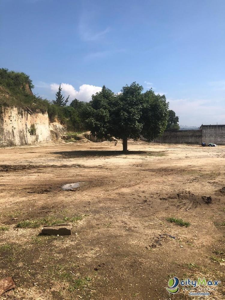 Terreno Industrial en Alquiler en San Miguel Petapa