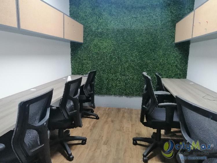 Oficina en Renta Zona 10 Edificio Desing Center