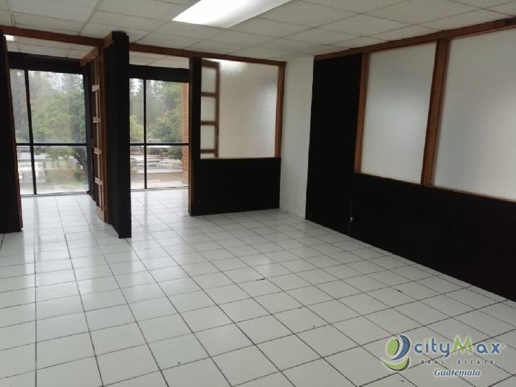 Oficina tabicada de 92 mts. en renta zona 10 Guatemala