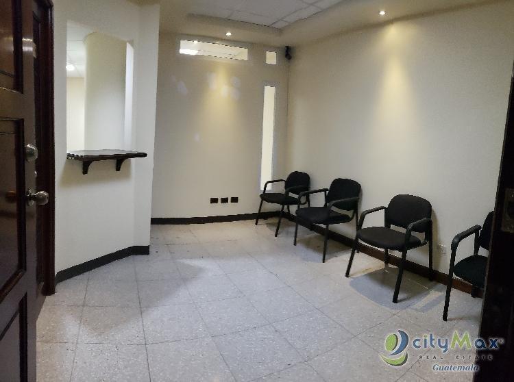 Oficina o Clinica venta o Alquiler Multimedica Zona 15