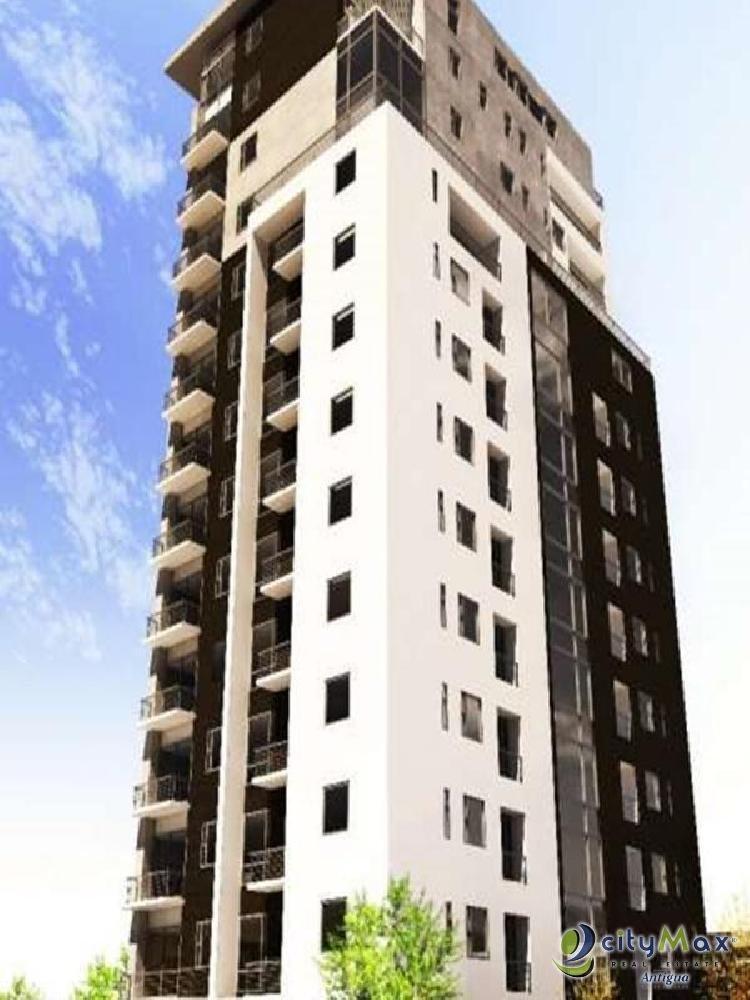 Renta de apartamento amueblado en torre residencial z14