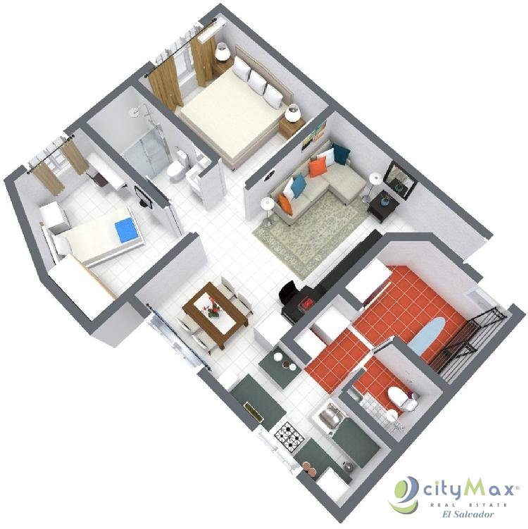 Se vende bonito apartamento en Colonia Escalón