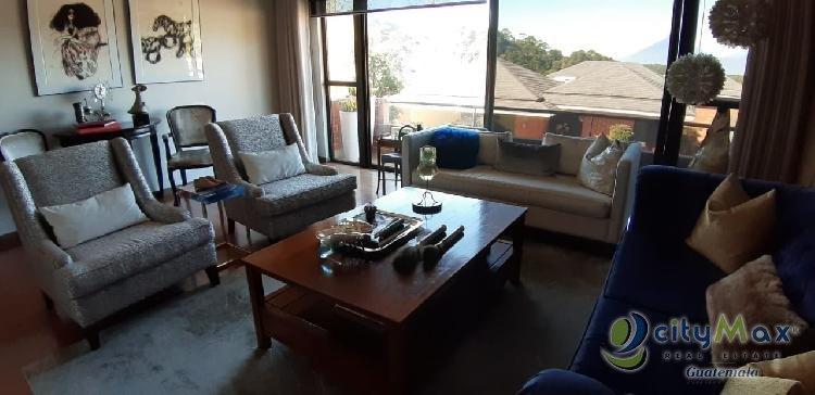 Residencia en condominio Muxbal en venta Guatemala
