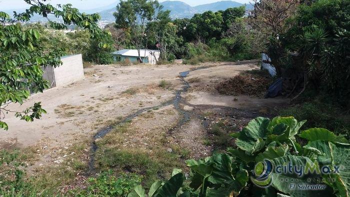 Terreno en alquiler en El Carmen parte Alta Escalón