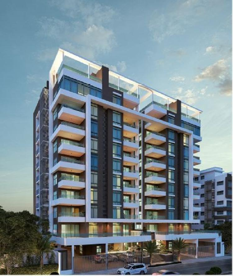 Apartamento en venta de 3 hab y terraza, Los Cacicazgos