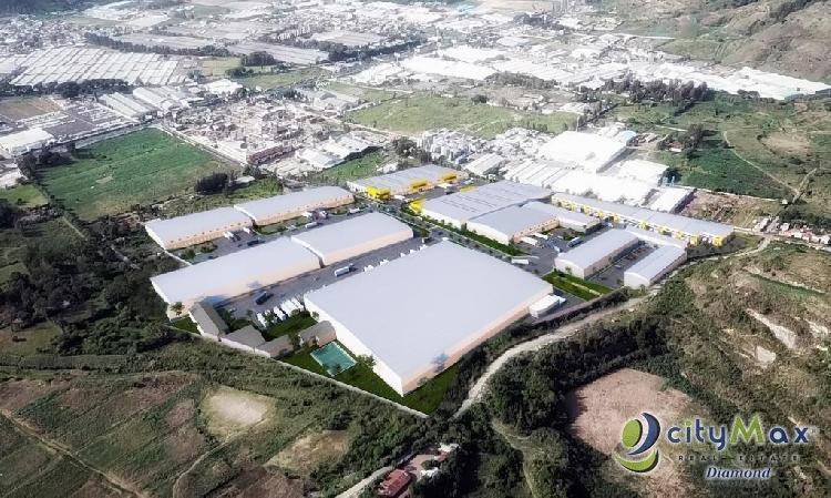 Terreno Urbanizado Industrial en Venta km 29 Amatitlan